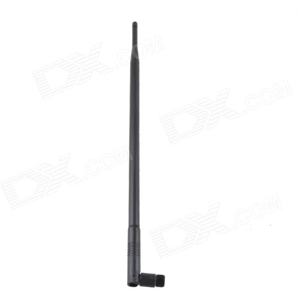 AYA-10DB 10dBi 1710~2170MHz RP-SMA Vertical Antenna - Black rp sma female to y type 2x ip 9 ms156 male splitter combiner cable pigtail rg316 one sma point 2 ms156 connector for lte yota
