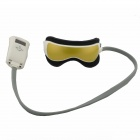 HQ365 Air Pressure Vibration Music Eye Massager - Golden + Black + Light Grey