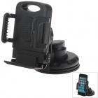 "H70 Car Instrument Desk Silicone Holder Mount w/ C66 4~5.4""' Back Clip for GPS / MP5 / Cell Phone"