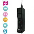 "KICCY KR999 GSM Bar Phone w/ 2.0"" LCD Screen, Dual-SIM, Quad Band, Bluetooth and FM - Black"