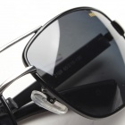 Reedoon 2108 Fashionable Magnalium UV400 Protection Polarized Sunglasses for Men - Black