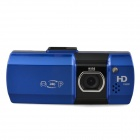 "AT550 1080P 2.7"" TFT LCD 5.0 MP Wide Angle Lens Car DVR w/ HDMI / G-sensor / TF - Blue + Black"