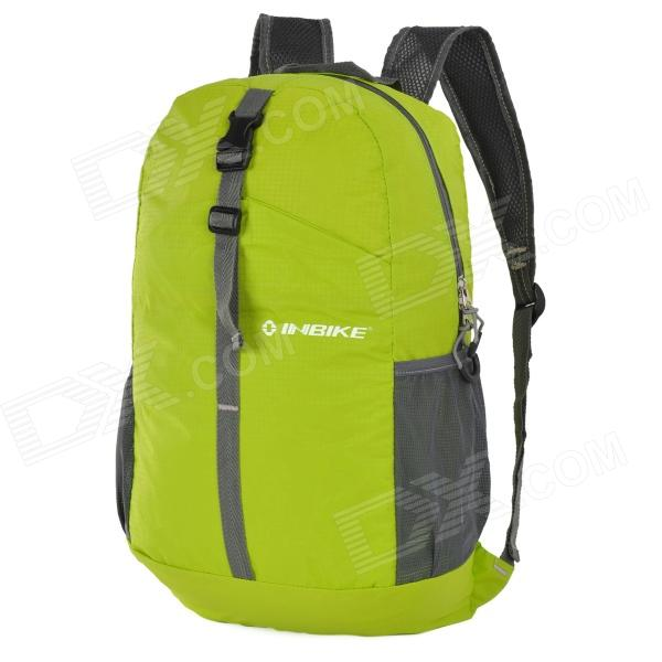 INBIKE IB816 Convenient Super Light Folding Nylon Backpack for Cycling - Green inbike bike folding lock