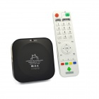 Ourspop U72 Quad-Core Android 4.2.2 Google TV Player w / 2GB RAM / 8GB ROM / Wi-Fi / HDMI / TF-Black