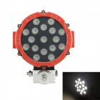 51W 2200lm 5000K 17-LED Working Light / Driving Light / Engineering Lamp / Light for Farm Workers