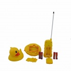 MY+51 2-Mode R/C Amphibious Duck - Yellow + Red + White + Black (2 x AA)