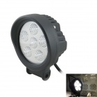 Waterproof 18W 920lm 6500K 6-LED Working Light / Electric Light / Ship Light - Black (9~32V)