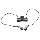 Roman S536 Fashionable Wireless Handsfree Bluetooth V4.0 Headset - Black + Silver