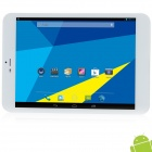 "Vido 7.9"" IPS Android 4.2.2 Quad Core 3G Phone Tablet PC w/ 1GB RAM, 16GB ROM. GPS - White + Silver"