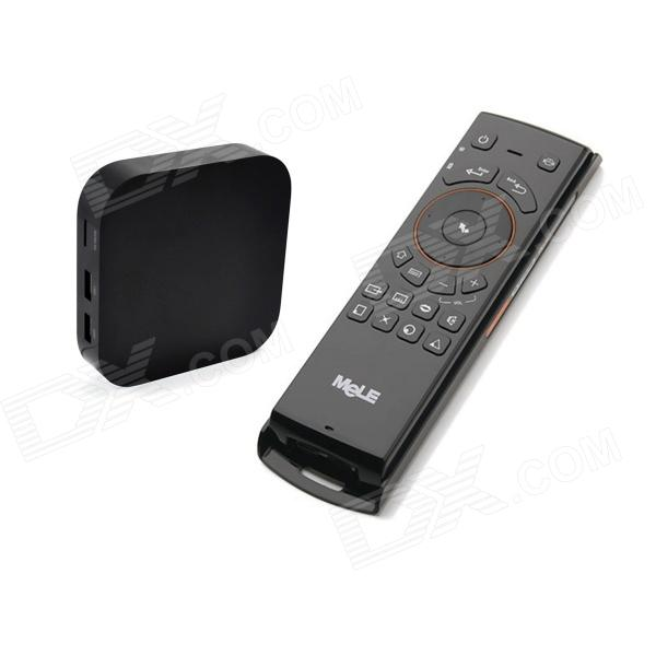 Ourspop OU70 Quad-Core Android 4.2.2 Google TV Player w/ XBMC, 2GB RAM, 8GB ROM + Mele F10 Air Mouse ourspop u73 quad core android 4 2 2 google tv player w 2gb ram 8gb rom f10 pro air mouse black