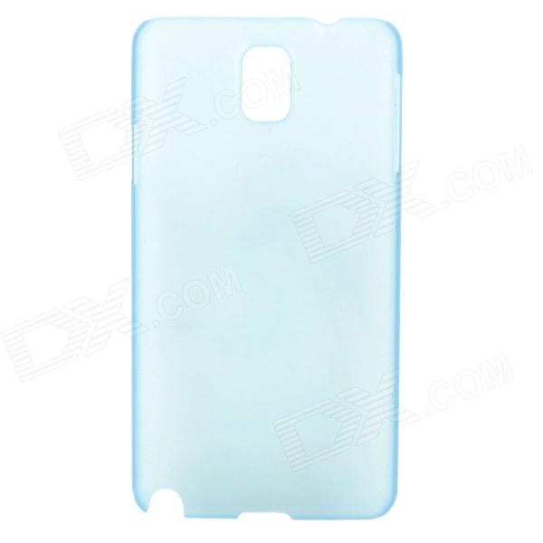 Ultrathin Protective Plastic Back Case for Samsung Galaxy Note 3 - Translucent Blue