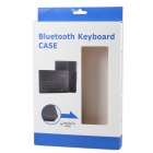Wireless Bluetooth V3.0 78-Key Keyboard w/ PU Leather Case for Samsung Galaxy Tab 3 P5200 - White