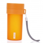 EYKI H5005 High-quality Leak-proof Frosted Bottle w/ Filter - Orange (360mL)