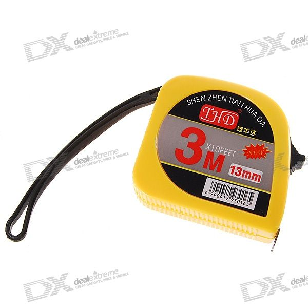 3-Meter Steel Engineering Pocket Tape Measure