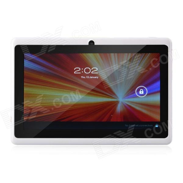 "Softwinners M3 7.0"" Android 4.1 Tablet PC 512 Mt RAM, 4 gt ROM, Wi-Fi, TF - valkoinen"