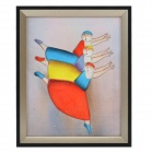 SYVIO Swan Dance of Three People Pattern Oil Painting/ Handmade Hand Painted Picture - Multicolor