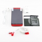 "PULID T9 MTK6589T Quad-Core Android 4.2.1 WCDMA Bar Puhelin w / 5.0"" IPS, 16 GB levy GPS - musta + punainen"