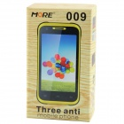 "009 Android 2.3.6 GSM Bar Phone w / 4.0 "", quadri-bande, FM et Wi-Fi - Noir + Orange"
