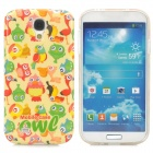 Parrot Pattern Protective TPU Case for Samsung Galaxy S4 i9500 - Multicolored