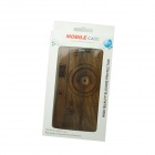 Retro Camera Style Detachable Protective Wooden Back Case for Samsung Galaxy Note 2 N7100 - Brown