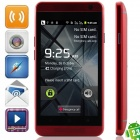 "eine mini (E19) Android 2.3.6 GSM Bar Phone w / 4,0 "", Quad-Band, FM-und Wi-Fi - Red"