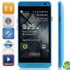 "one mini(E19) Android 2.3.6 GSM Bar Phone w/ 4.0"", Quad-Band, FM and Wi-Fi - Blue"