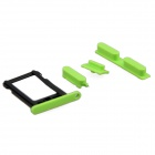 Replacement SIM Card Tray + Volume Button + Mute Button + Switch Button for Green Iphone 5C - Green