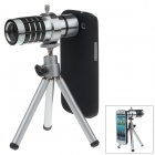 Zuoyue 12X Telescope Lens for Samsung Galaxy S3 i9300 - Black + Silver