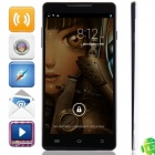 "S8 MTK6589T Quad-Core Android 4.2.1 WCDMA Bar Phone w/ 6.0"" HD, 16GB ROM, Wi-Fi, GPS - Black + White"