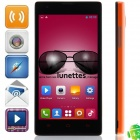 "htm M1 MTK6572 Dual-core Android 4.2.2 GSM Bar Phone w/ 4.63"", Quad-Band, FM, Wi-Fi - Black + Orange"