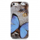 Butterfly Style Protective TPU Back Case for Iphone 5C - Multicolor