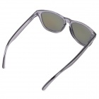 OREKA 009 Fashionable UV400 Protection Resin Lens Polarized Sunglasses - Black