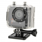 "Codisk T80 Waterproof 2.0"" TFT 1/2.5"" CMOS 5.0 MP Full HD 1080P Outdoor Sport Action Camera - Black"