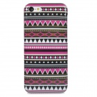 Stylish Tribal Ethnic Style Protective Plastic Back Case for Iphone 5C - Purple + Black + White