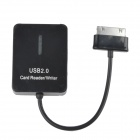 SCR517 5-in-1 TF / SD / MMC / MS / M2 Card Reader Connection Kit for Samsung Galaxy Table - Black