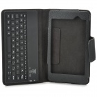 58 Keys Wireless Bluetooth V3.0 Keyboard Case for Google Nexus 7 II -  Black