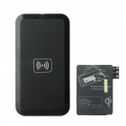QI Standard USB Wireless Charger + Receiver Module for Samsung Galaxy Note 3 - Black
