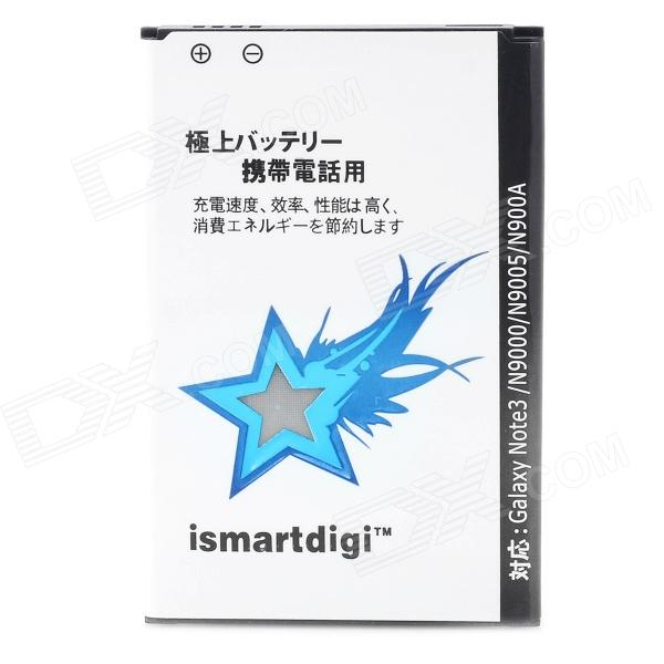Ismartdigi Replacement 3.8V ''3200mAh'' Battery for Samsung Note 3 Galaxy N9000 - White + Black ismartdigi replacement li 50b 3 7v 920mah battery for olympus mju tough tg 160 more