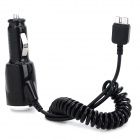 Micro-B USB 3.0 Plug Car Cigarette Lighter Charger for Samsung Galaxy Note 3 N9000 - Black