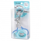 Fashion Make Up Cosmetic Eyelash Curler  - Blue + Silver