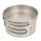 Keith KP6017 Titanium Pot - Silver Grey