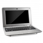 "HL-1088 10"" LCD Android 4.4.2 Netbook w/ LAN / RJ45 / Camera - Silver"