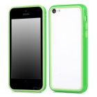 Protective TPU Bumper Frame for Iphone 5C - Green + Light Green