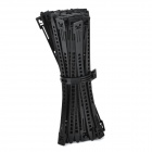 PE Plastic Cable Management Ties - Black (50 PCS)