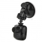 "D33 1.5"" TFT 8.0MP CMOS Wide Angle Car DVR w/ G-sensor / Mic / TF / Mini USB / Mini HDMI - Black"