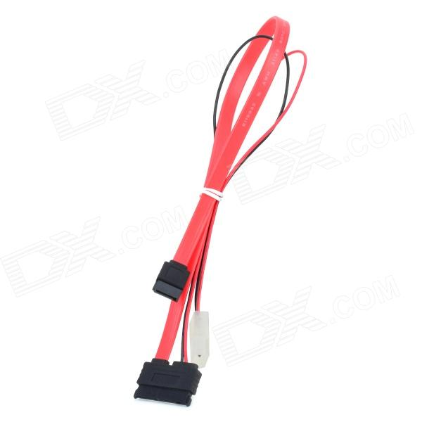 Micro SATA 16-Pin (7 + 9 Pin) to 7-Pin Data + 4-Pin Power Connection Cable for 1.8 HDD переходник sata 8 pin