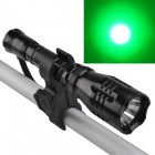 SingFire SF-55B Cree XP-E G4-R2 180lm 1-Mode Green Tactical Flashlight w/ Remote Pressure Switch