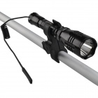 SingFire SF-55B 180lm 1-Mode grön taktisk ficklampa med Cree XP-E G4-R2, Remote tryckvakt