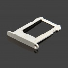 Replacement SIM Card Tray for White Iphone 5S - Silver