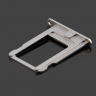 Replacement Aluminum Alloy SIM Card Tray for Black Iphone 5S - Grey